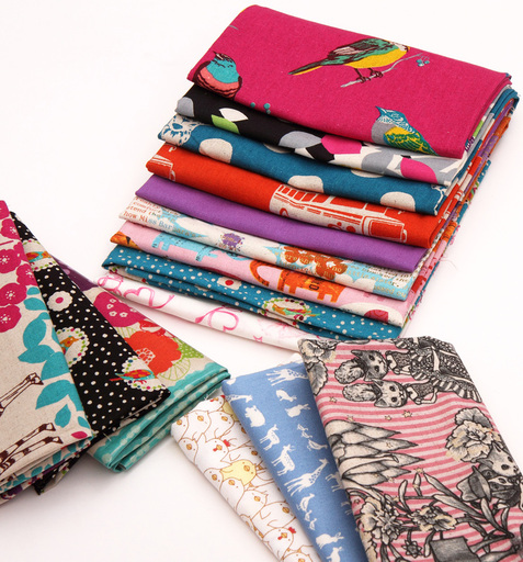 Japanese Fabric Fat Quarter fabric packs from ModeS4U