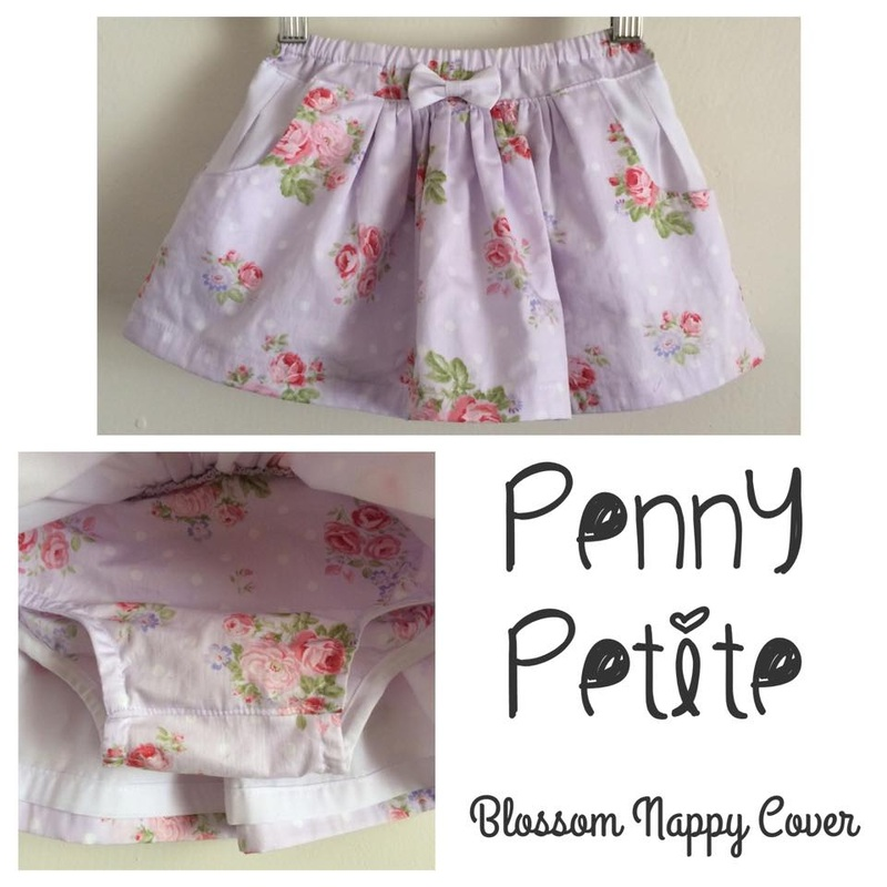 Penny Petite Blossom Nappy/Diaper Skirt Pattern Hack