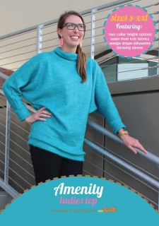 Amenity Top PDF Sewing Pattern Cover
