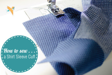 How to sew a shirt sleeve cuff thumbnail