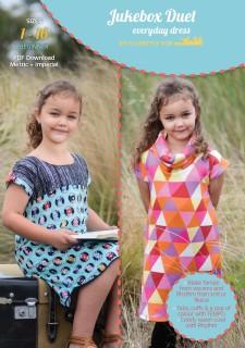 Jukebox Duet PDF Sewing Pattern Cover