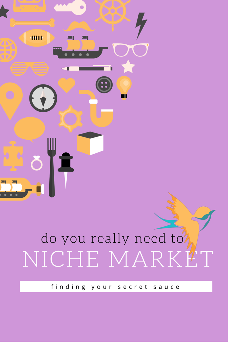 Do you really need to niche market?