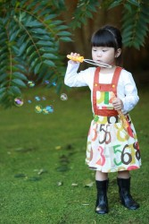 Playproof Dungaree Skirt Edition by Serger Pepper Designs, sewn by Jaslyn