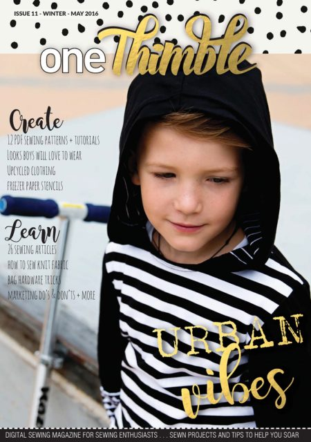 One Thimble Digital Sewing Magazine Issue 11