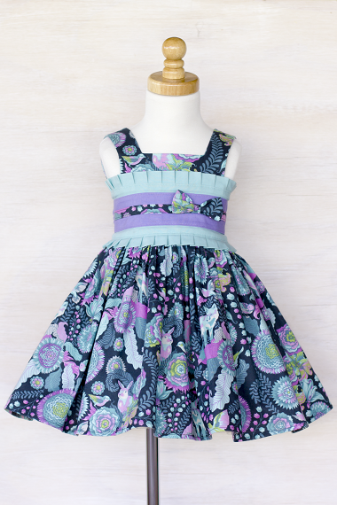 Clean Edit example - front of Firefly Dress