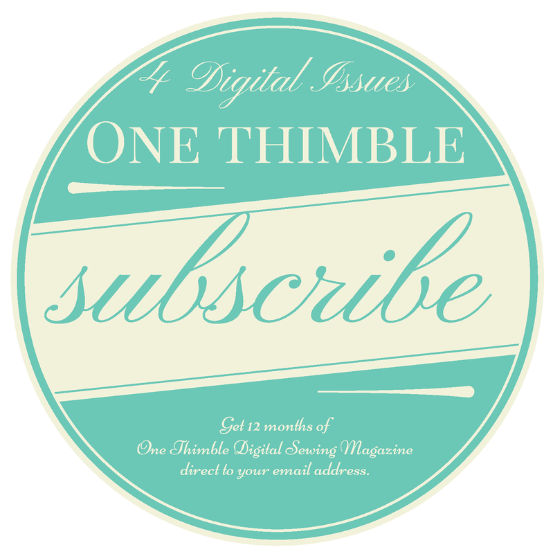 One Thimble 4 Issue Subscription
