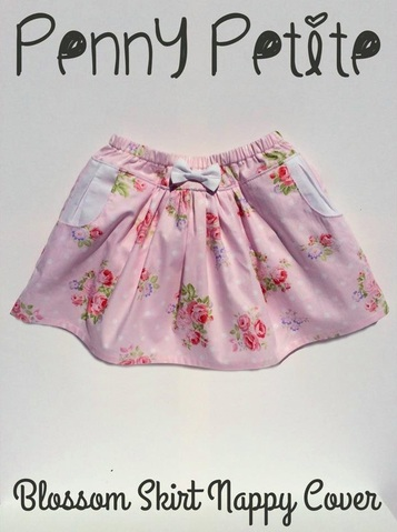 Penny Petite Blossom Skirt Nappy Cover Pattern Hack