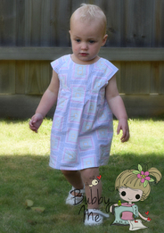 Eloise Dress by Bubby and me