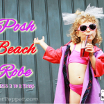 Serger Pepper - Posh Beach Robe - FREE pattern in 6 sizes