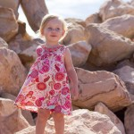 Bug & Miss Bow Trim Dress