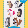 Woodland Creatures Finger Puppets Pattern Cover
