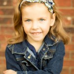 Sweet Grace Ruffled Headband from front