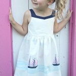 Missy Moo Ruffles & Frills Sarah Jane Out to Sea Bells Beach Dress