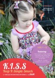 KISS dress PDF Sewing Pattern Cover