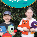 Kids Creations Easy Softie Patterns PDF Sewing Pattern Cover