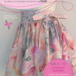 Mem Rose Skirt PDF Sewing Pattern Cover
