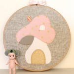 Fairywood Cottage Hoop Art Tutorial by Lauren from Molly and Mama
