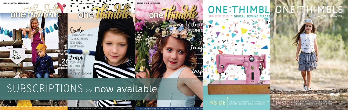 One Thimble Subscriptions Now Available
