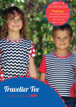 Traveller Tee PDF Sewing Pattern Cover