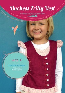 Duchess Frilled Shoulder Vest Cover