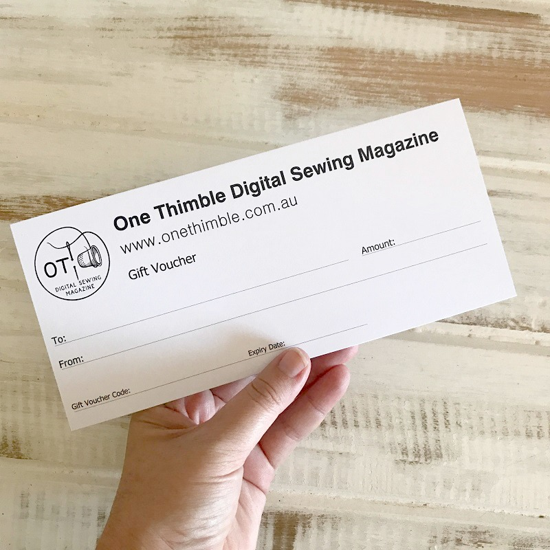One Thimble Gift Voucher