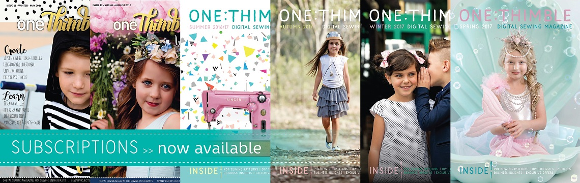 One Thimble Subscriptions Available now