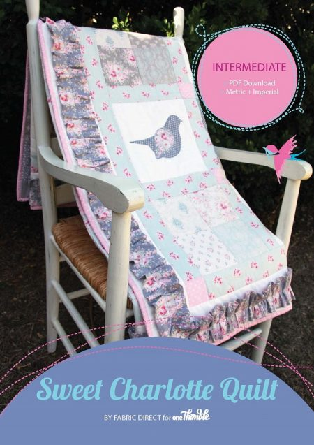 Sweet Charlotte quilt stand alone