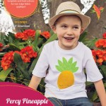 percy pineapple applique pattern cover
