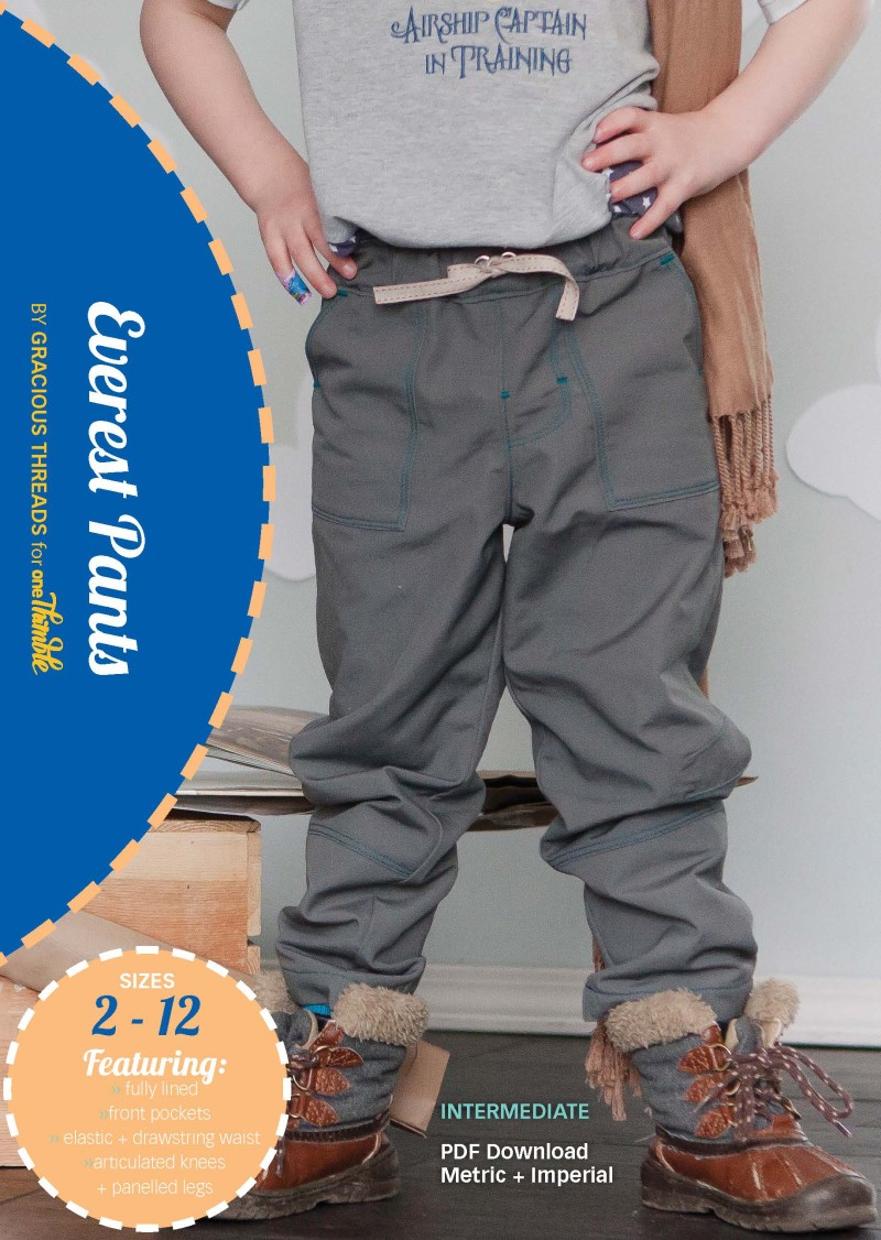 Everest Pants PDF Pattern Cover