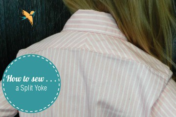 How to sew a split yoke thumbnail