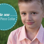 How to sew . . . A Two Piece Collar