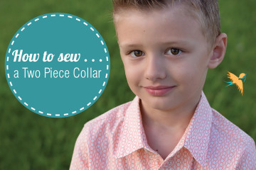 How to sew a two piece collar thumbnail