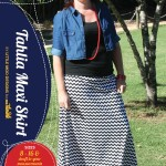 Tahlia Skirt PDF Pattern Cover