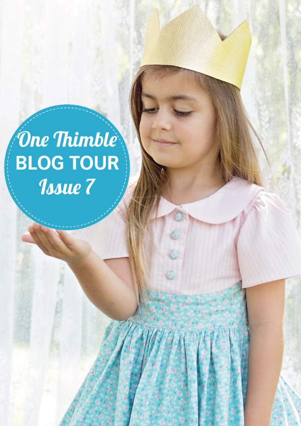 Blog Tour Issue 7 One Thimble Flyer