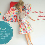 Mini Mem Rose Skirt Tutorial