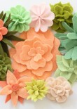 Coco Flower Crown included flowers and succulents