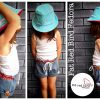 Fat Red Bird Fedora - green and red girls