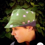 Fat Red Bird Fedora - Green Ladies