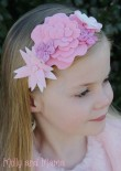 Coco Flower Crown - Pinks - Molly and Mama
