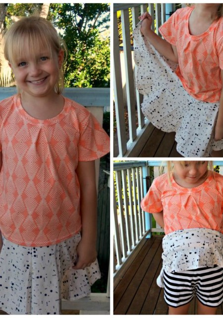 Additional Images Swingset sort & Butterfly blouse