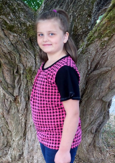 Buttefly Blouse as sewn by Dina Templeman