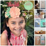 One Thimble Issue 8 - article collage