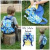 Little Collector Backpack - sewn by Swoodson Says