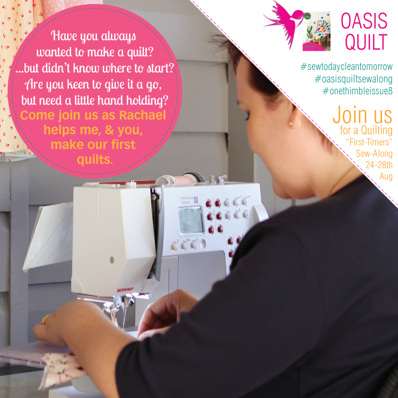 Join us for the Oasis Quilt Sew Along