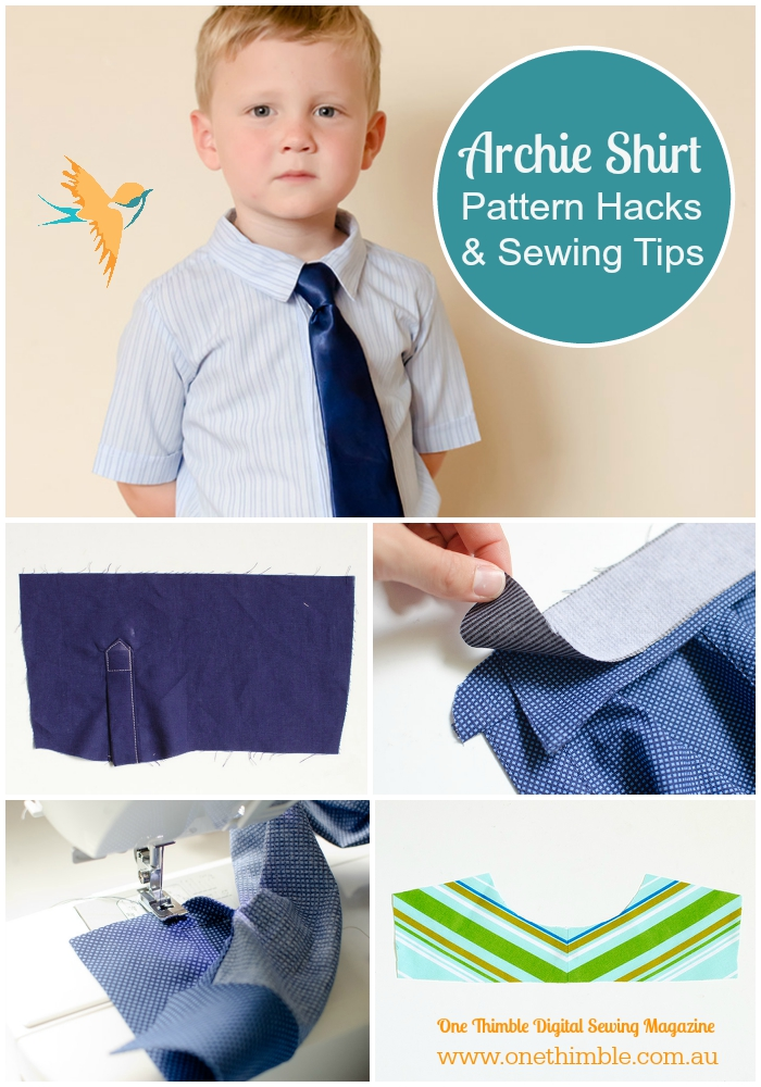 Archie Shirt Pattern Hacks & Sewing Tips Roundup