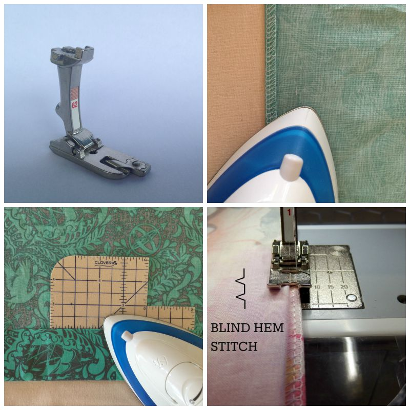 Hemming Methods collage