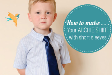 Short Sleeve Pattern Hack