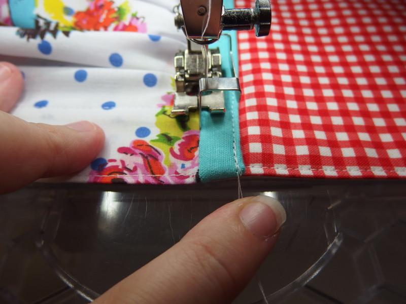 Bernina foot 5 in action