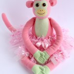 Cheeky Monkey Softie with Tutu for One Thimble Issue 9
