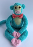 Cheeky Monkey Softie with Bow Tie
